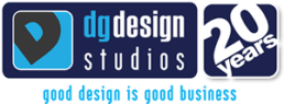 DG Design Logo 20 years - Good Design is good business