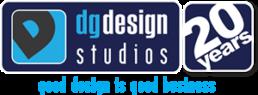 DG Design Logo 20 years - Good Design is good business