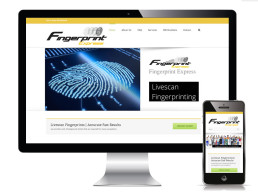 Fingerprint Express website